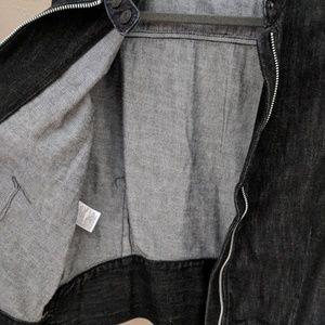 GAP Jackets & Coats - NWT. Black denim moto jacket